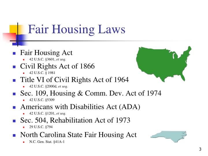 Fair housing laws