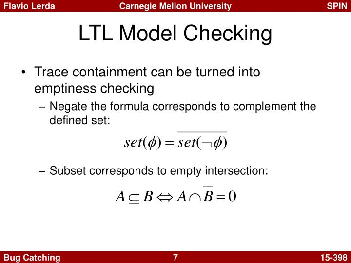 LTL Model Checking