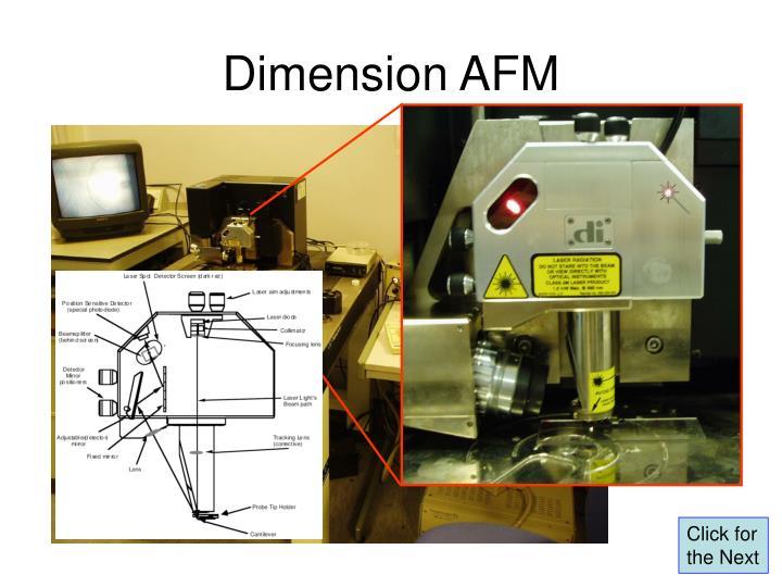 Dimension AFM
