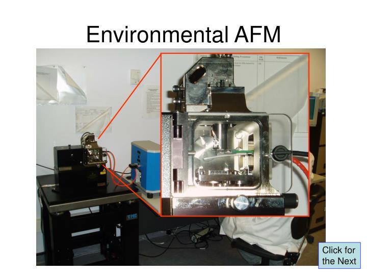 Environmental AFM