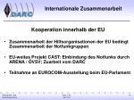 internationale zusammenarbeit1