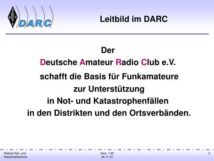 Leitbild im DARC