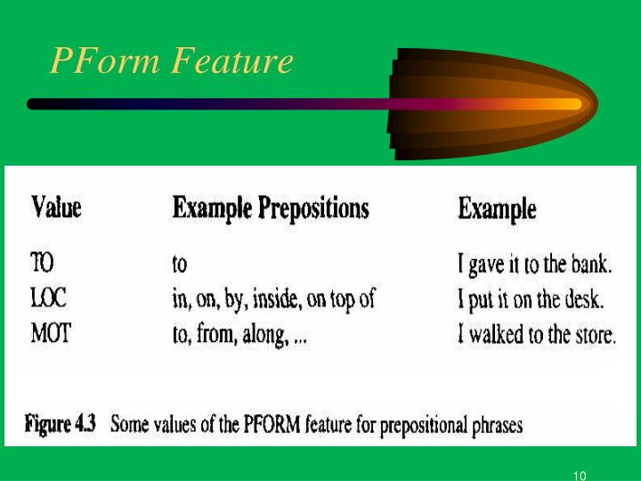 PForm Feature