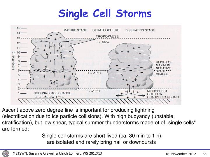 Single Cell Storms