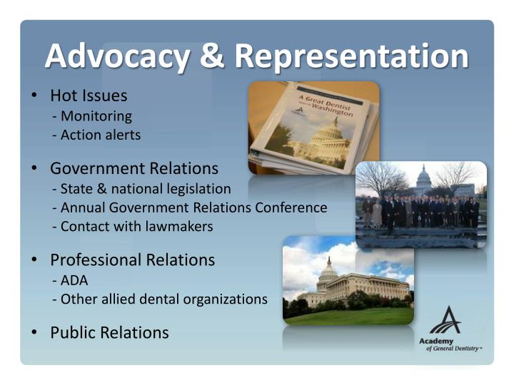Advocacy & Representation