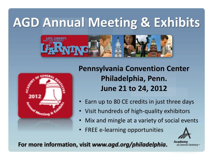AGD Annual Meeting & Exhibits