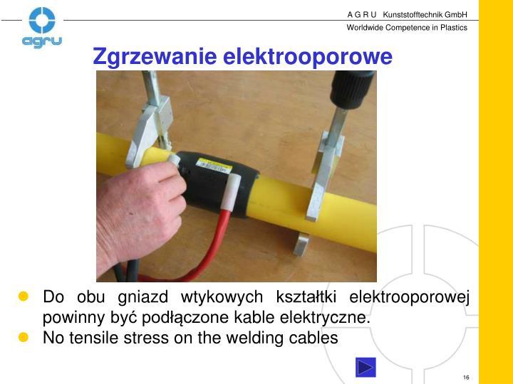 Zgrzewanie elektrooporowe