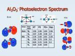 al 3 o 3 photoelectron spectrum