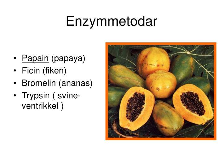 Enzymmetodar