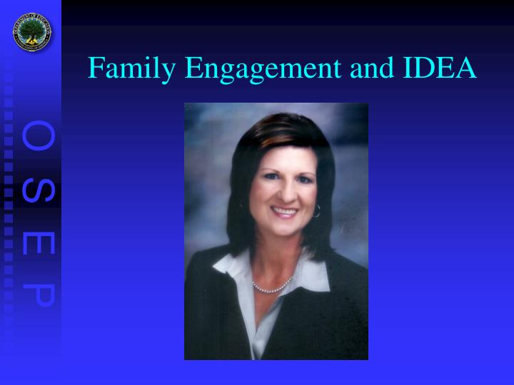 Family Engagement and IDEA