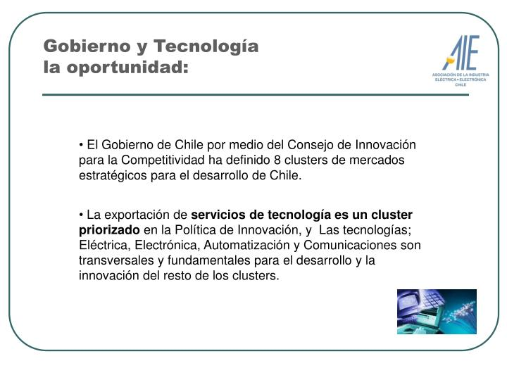 Gobierno y Tecnología