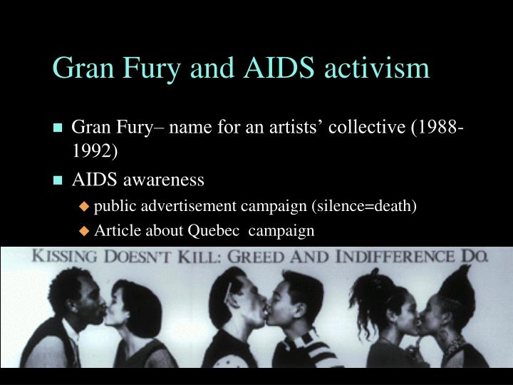 Gran Fury and AIDS activism