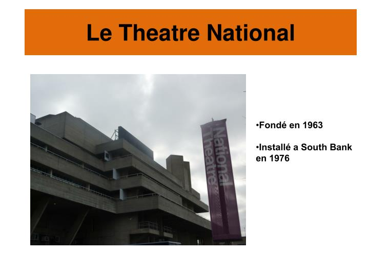 Le Theatre National