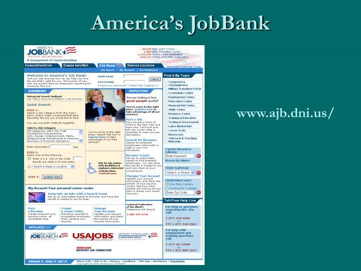 America's JobBank