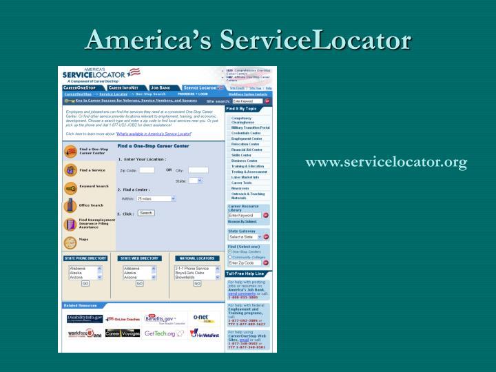 America's ServiceLocator