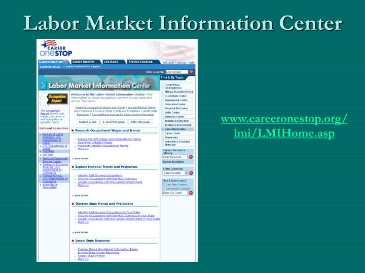 Labor Market Information Center