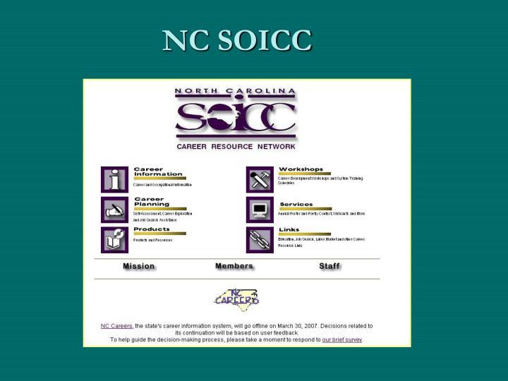 NC SOICC