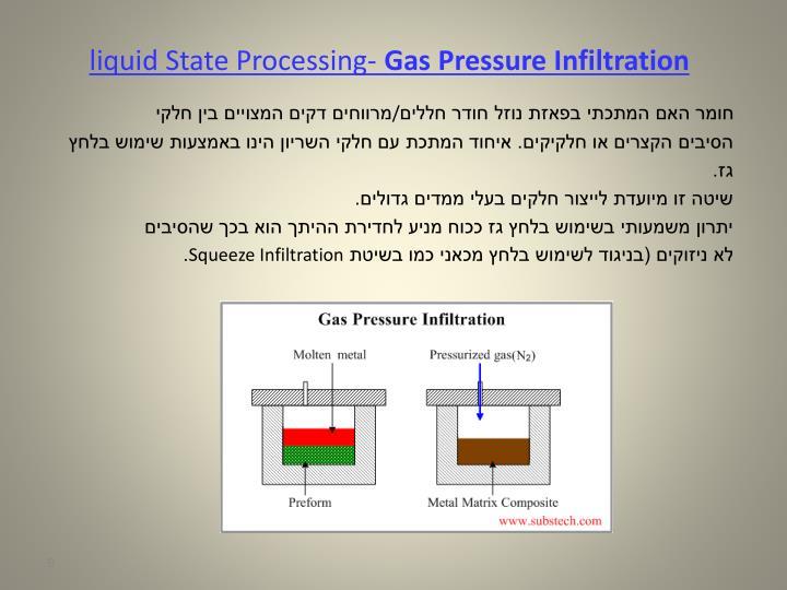 liquid State Processing-