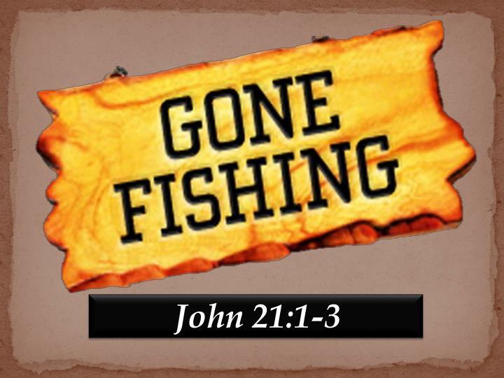 John 21:1-3