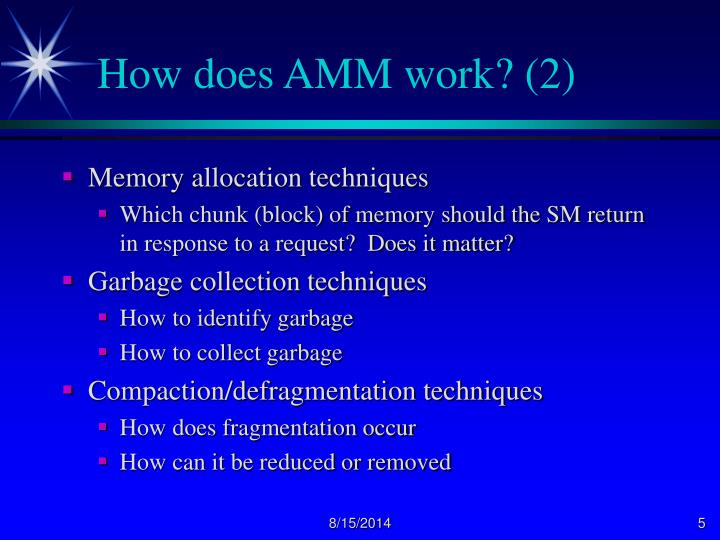 How does AMM work? (2)