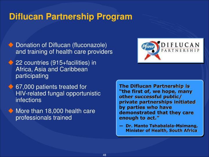 Diflucan Partnership Program