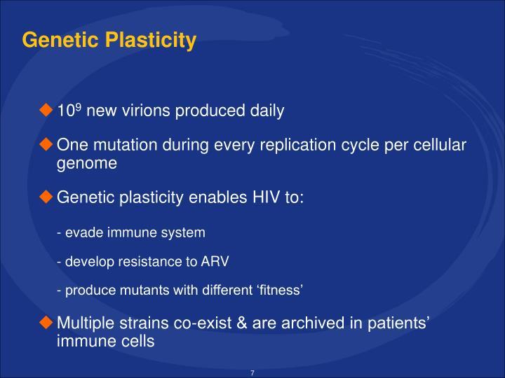 Genetic Plasticity