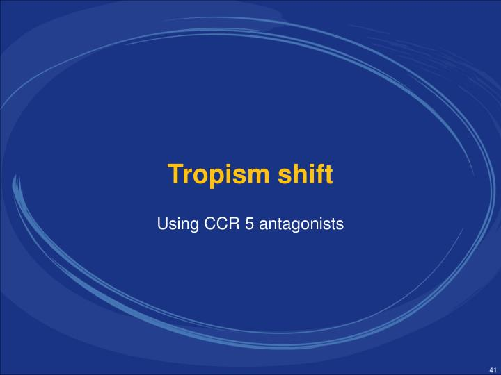 Using CCR 5 antagonists