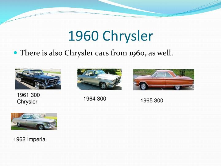 1960 Chrysler