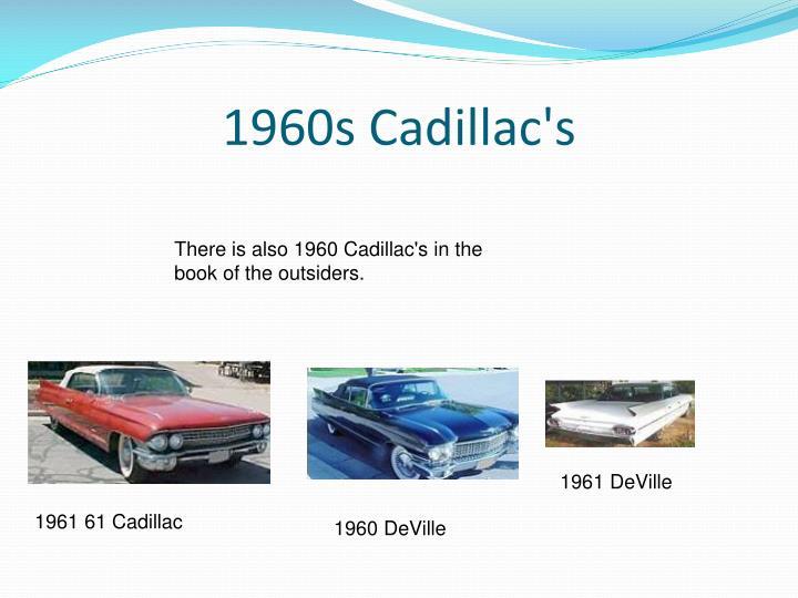 1960s Cadillac's