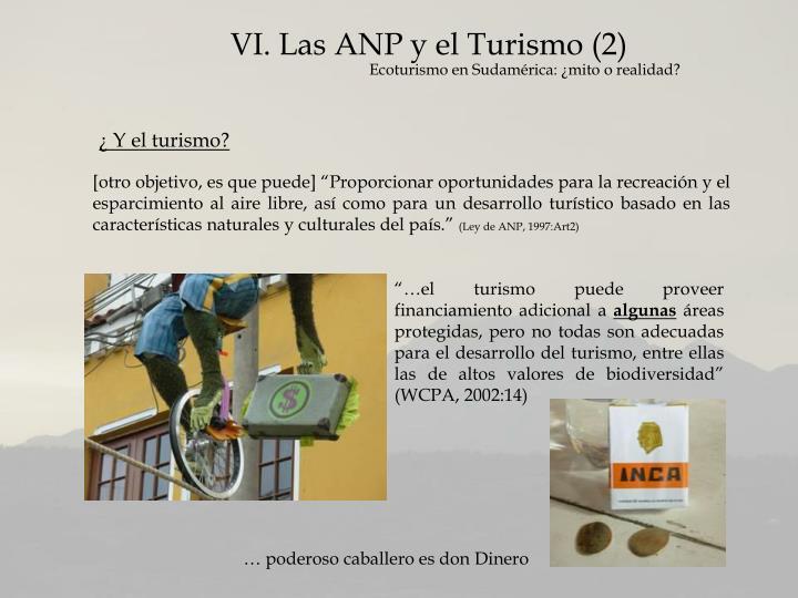 VI. Las ANP y el Turismo (2)