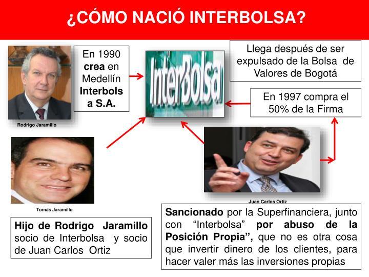 ¿CÓMO NACIÓ INTERBOLSA?