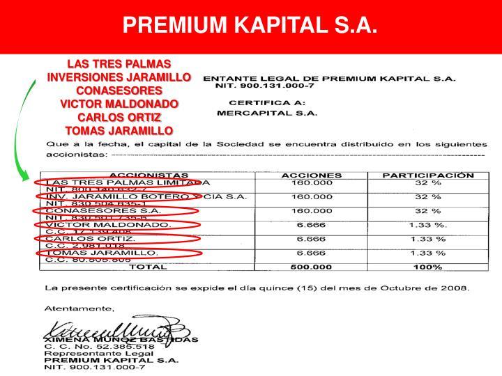 PREMIUM KAPITAL S.A.