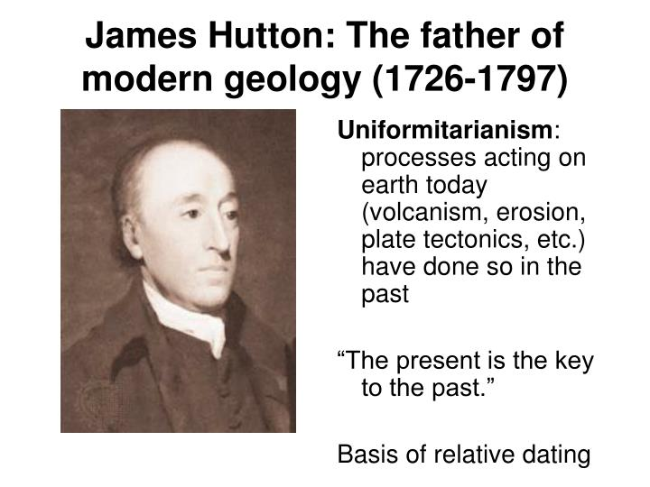 PPT - Geologic time Relative dating PowerPoint ...