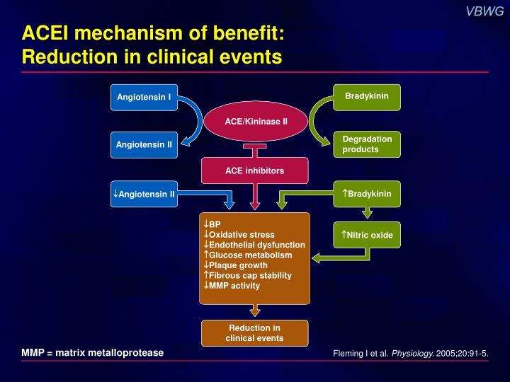 ACEI mechanism of benefit: