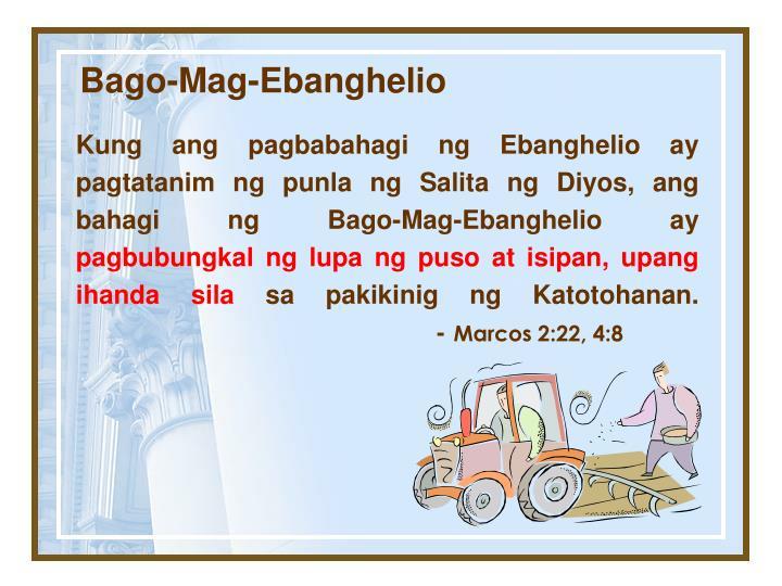 Bago-Mag-Ebanghelio