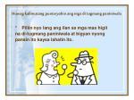 huwag kalimutang punteryahin ang mga di tugmang paniniwala