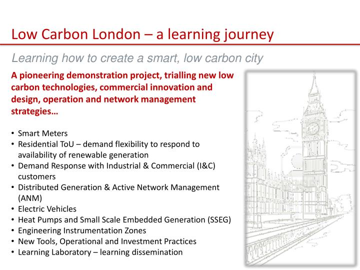 Low Carbon London – a learning journey