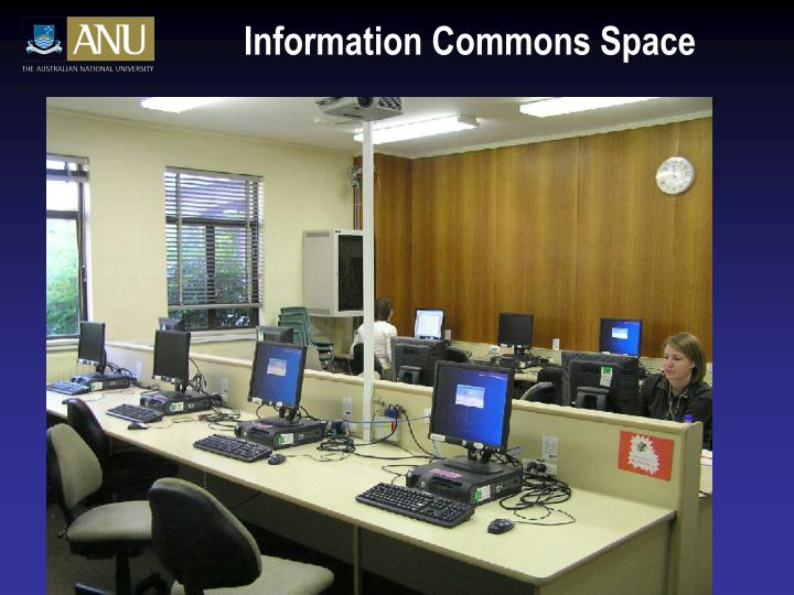 Information Commons Space
