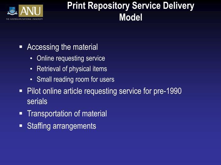 Print Repository