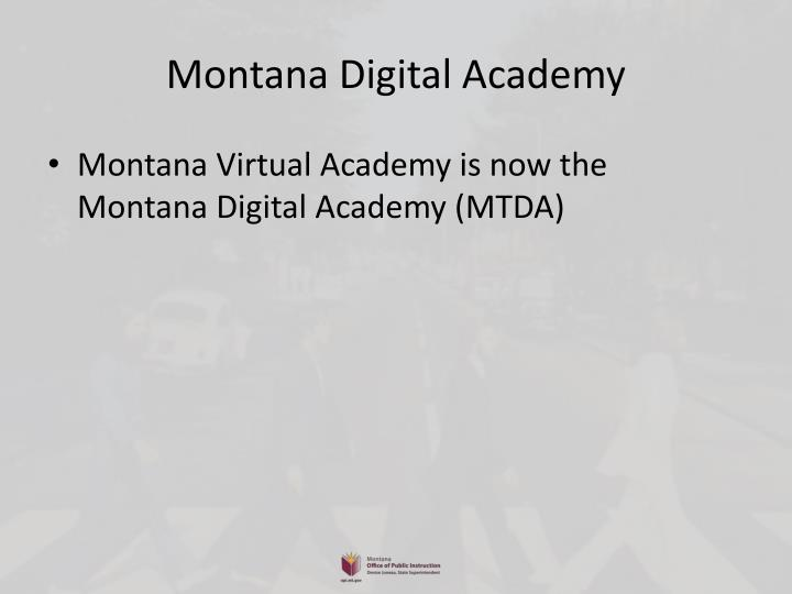 Montana Digital Academy