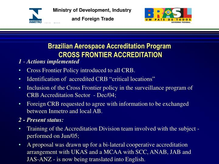Brazilian Aerospace Accreditation Program