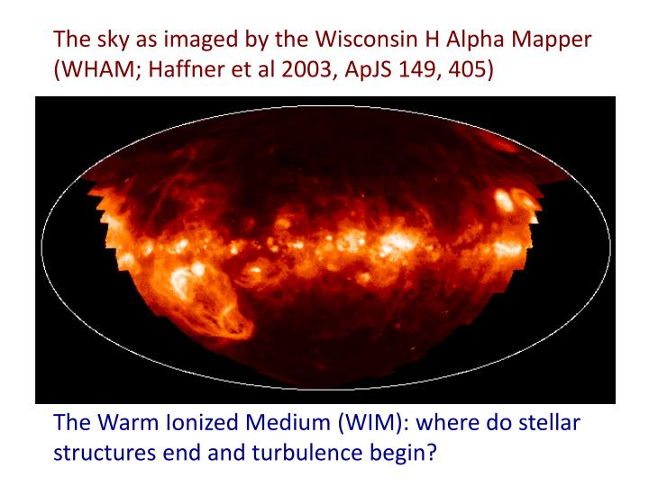 The sky as imaged by the Wisconsin H Alpha Mapper (WHAM;