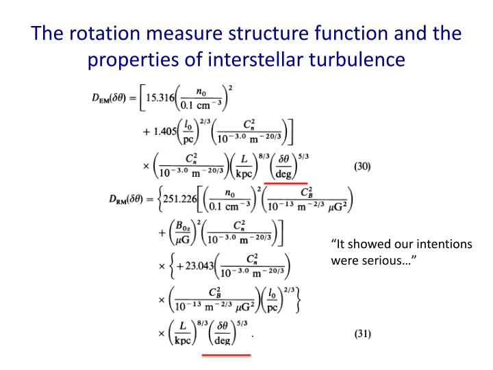 The rotation measure structure function and the properties of interstellar turbulence