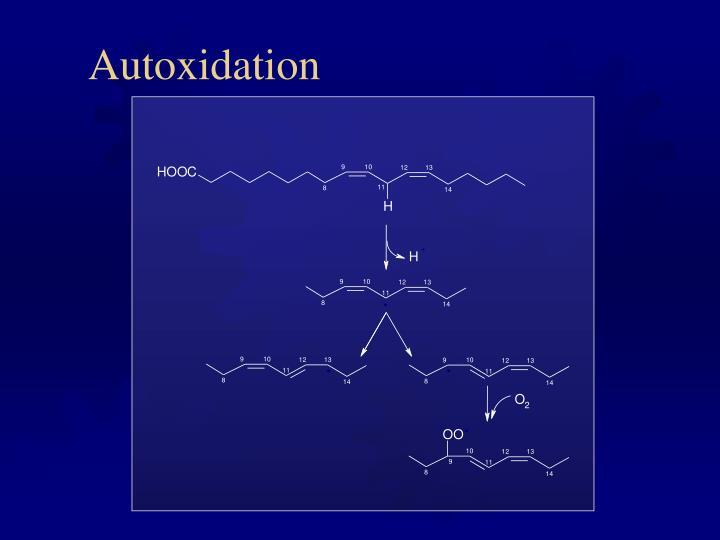 Autoxidation