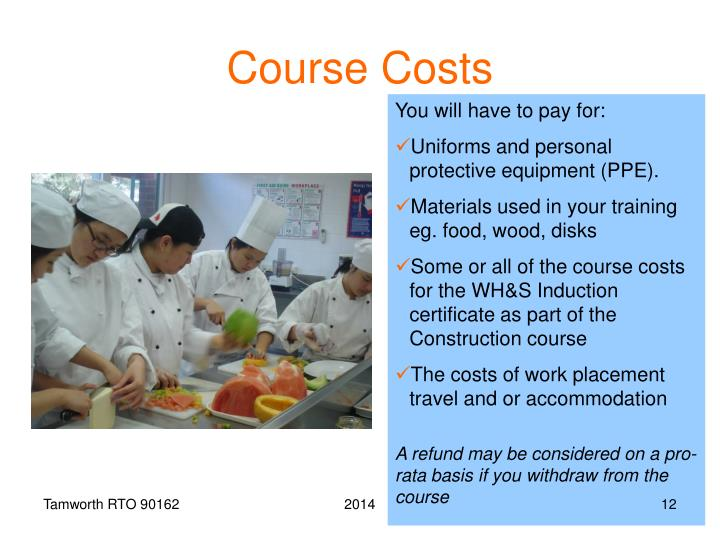 Course Costs