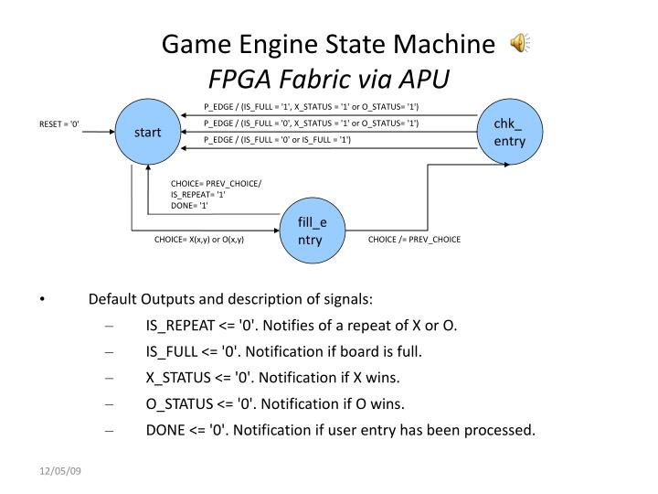 Game Engine State Machine