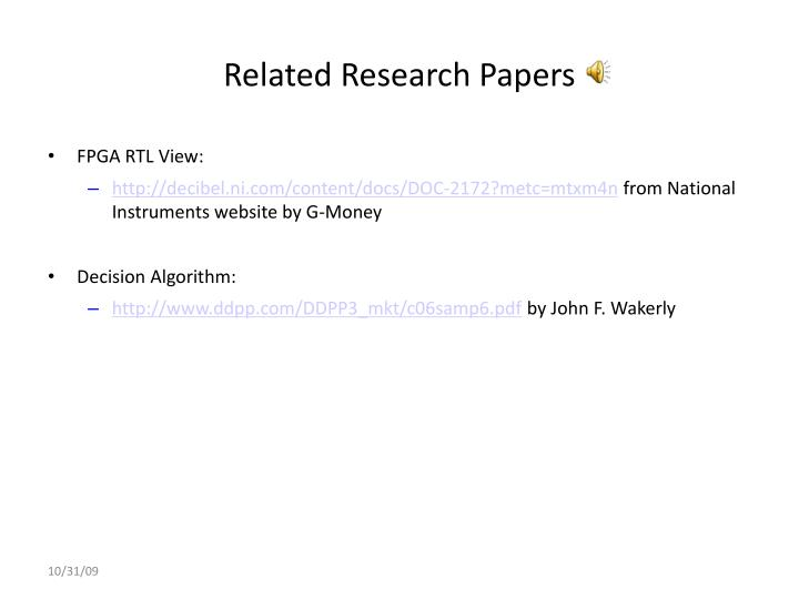 Related Research Papers