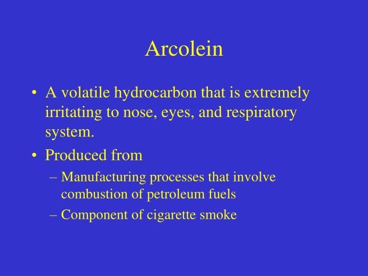 Arcolein