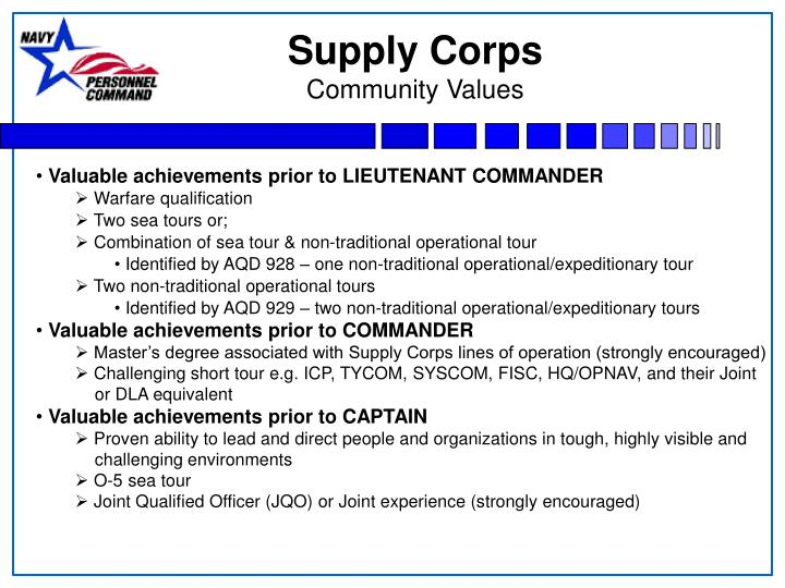 Supply Corps