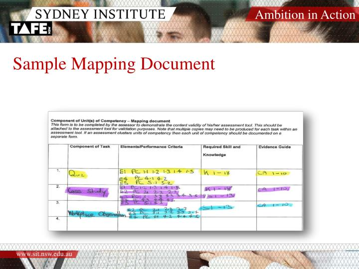 Sample Mapping Document